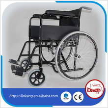 steel lightweight portable folding hospital cheapest wheelchair