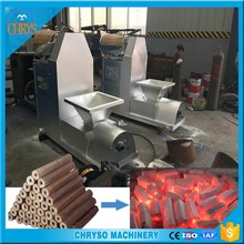 China Charcoal wood sawdust press machine with propeller parts