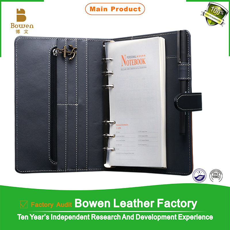a5 2014 leather calendar organizer,calendar organizer diary agenda leather notebook,Leather personal calendar organizer