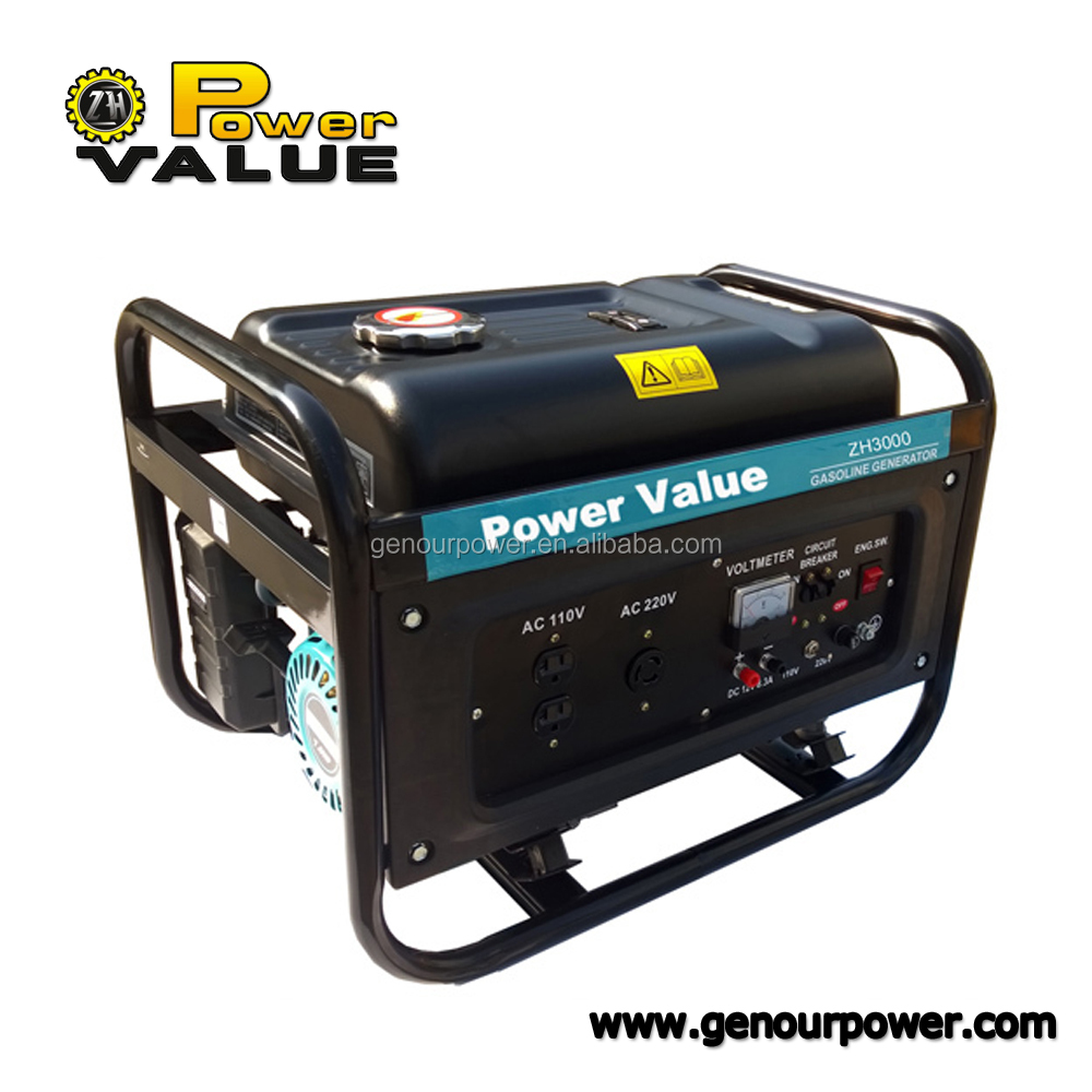 Power Value 2000w generator hs code