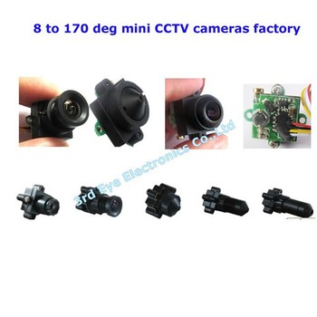 Mini size 520tvl resolution 8 to 170 deg view angle remote control toy boats,plane,car use camera module