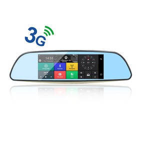 Car DVR Android 5.0 mirror DVR 3G Bluetooth rearview mirror with DVR and camera video recorder Dash Cam