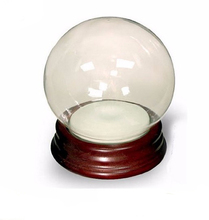 Snow Globe With Resin Base Makes a Fun Project For Do-It-Yourselfers