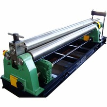 Hydraulic bending machine W11-12*2500 machinery tool equipment iron bending rolling machine