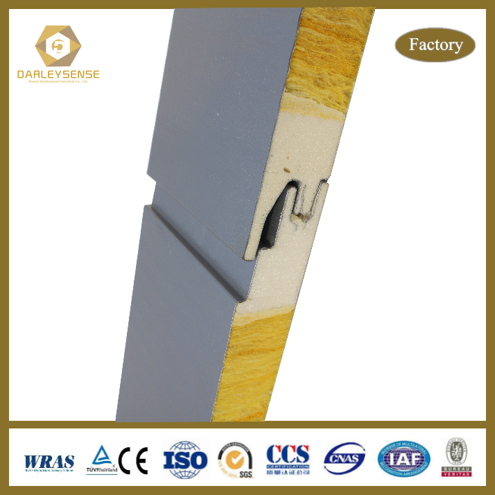 Unique Fireproof Polyurethane Sealing Technology 50mm thick roof insulation with Promotional Price