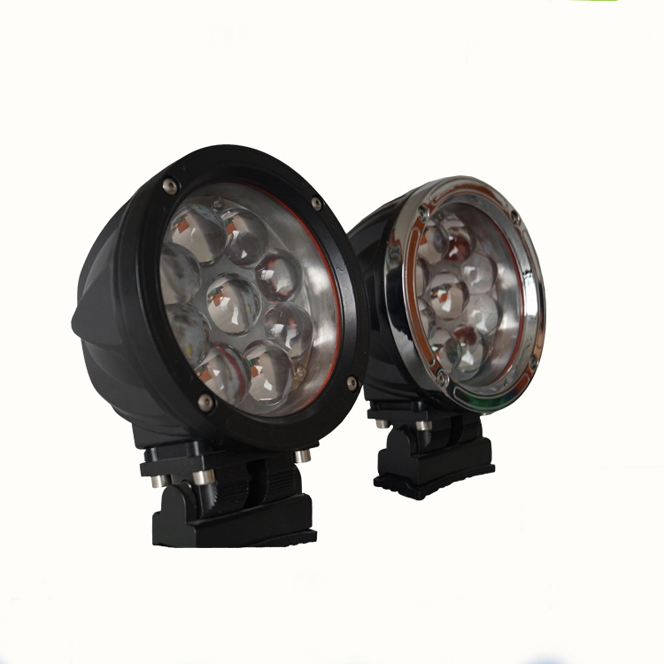 HANTU low MOQ Straight <strong>shock</strong> resistance 45w led light spot/flood/combo beam led work light for offroad