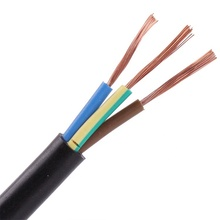 Different types electrical copper wire flexible cable