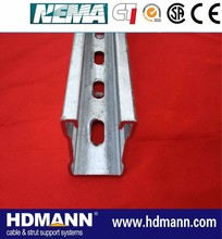 Anti-corrosion outdoor hot dipped galvanized unistrut channel OEM supplier