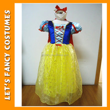 PGCC-0030 Halloween fancy dress Snow white princess Costumes With plus size in stock