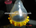 New design Funny condom for male with spike condom