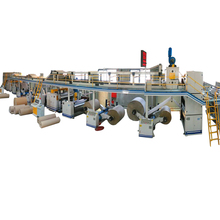 High speed computerized 7 ply corrugated cardboard production line,corrugated box making machine