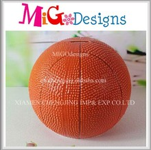 China Produce Ceramic Basketball Decoration For Sale
