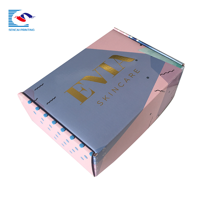Wholesale custom printed unique corrugated shipping boxes custom logo cardboard mailer box