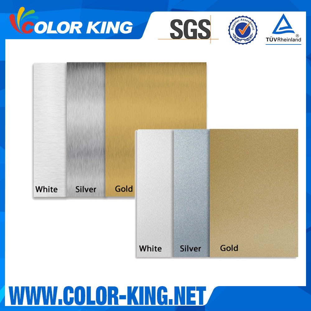Coated Already Print Directly Gold Sublimation Aluminium Sheet