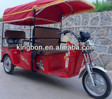 Hot sale 800W three wheel adult electric tricycle for passenger