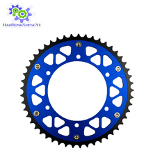 48T Motorcycle Steel Aluminum Composite Rear Sprocket