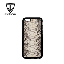 Custom Dust Proof New Genuine Python Snakeskin Leather Cell Phone Case Cover
