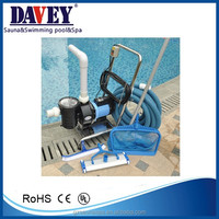 Luxury swimming pool cleaning kit, hand vacuum cleaner