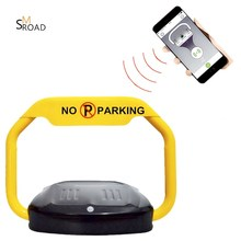 Park safety Dry Battery Phone app Private bluetooth REMOTE Electronic Parking Space Lock