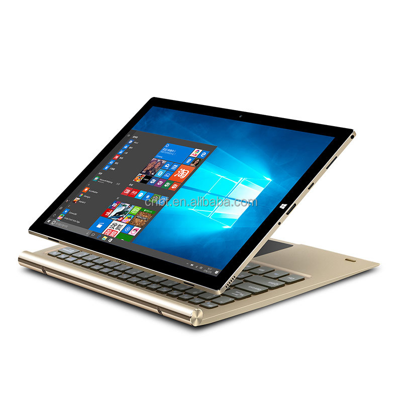 2 In 1 Convertible Laptop & Tablet, Dual OS Tablet Intel Atom Z8350 10.8 Inch Tablet pc with keyboard