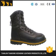 active leather outsole police safety shoes price