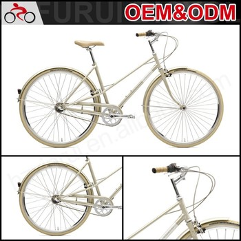 New style Hot sales 3 speed gear aluminium city bike for sale