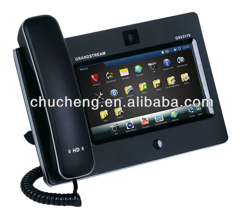 grandstream GXV3175 multimedia sip video wall mounted telephone with poe