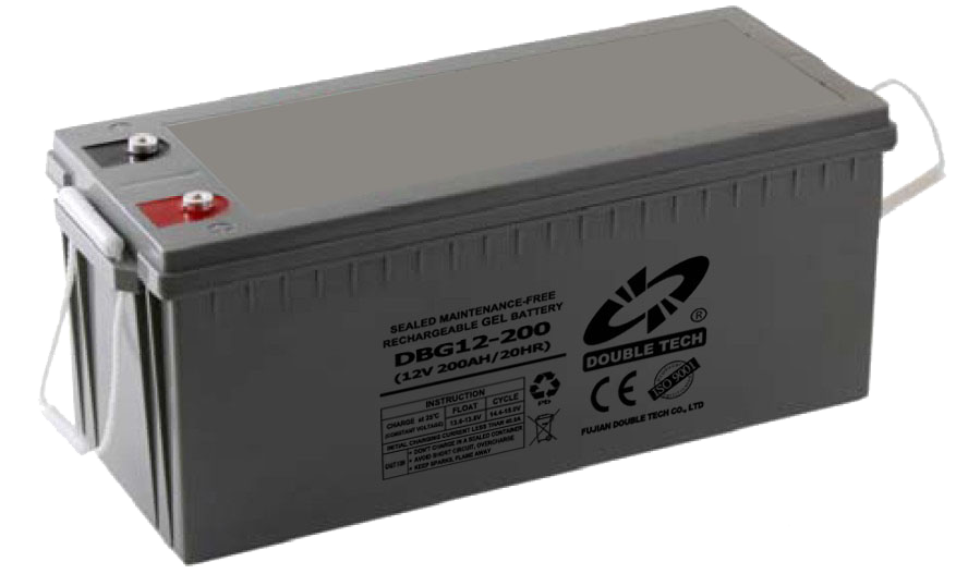 New product gel sealed lead acid 12v 200ah solar battery