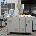 hot sale large upvc pvc pipe tube manufacturing fabrication extrusion machine