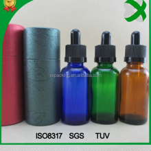 amber glass bottle 30ml with sharp tube