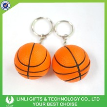 Hot Selling Promotion Mini Key Chain Basketball