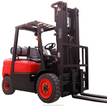 China Brand New 2 TON GAS forklift FOR SALE 5.0M TRIPLE CONTAINER SPEC MAST SIDE SHIFT