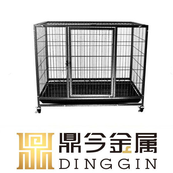 Luxurious hollow tube dog cage