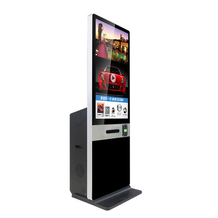 "Floor Standing Multitouch cheap 32"" touch screen kiosk photo booth kiosk"