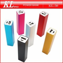 2600mAh Mirror Mini Powerbank Potable Charger For Mobile Phone