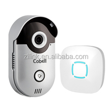 Factory supply ip66 waterproof HD Wifi Video Door Phone camera, support two way talk HD 720p video intercom 12v DC doorbell.