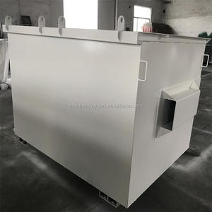 Waste stacking dumpster skip lift bin garbage storing in china factory with best quality