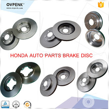 High Quality GSV ICTI Factory Brake Rotors Disc HOND-A system manufacturer