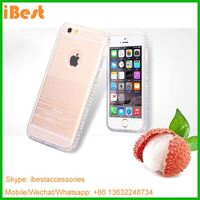 iBest New Fresh Color TPU dimond design case cover for iphone 6,tpu case for iphone 6,foshan mobile phone accessories