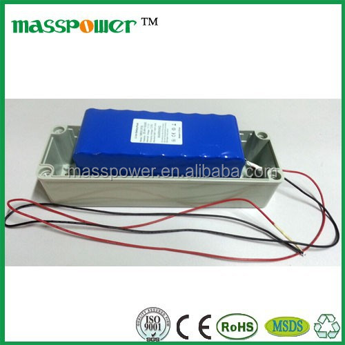 Powerful and safe li-ion battery pack 12v 30ah