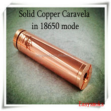 wholesale caravela mod e cig match with 18650 and 18350 e cig battery the cheapest caravela mod e cig