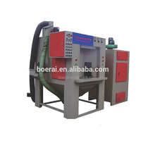 BA-1500SA-9 Automatic rotary with spray nozzles,Rotary Automatically Sandblasting Machine