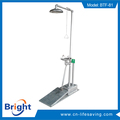 Professional emergency shower station with CE certificate