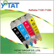 Compatible for Epson Refill ink cartridge T1281-4 for Epson S22 SX125 SX130 SX235W SX230