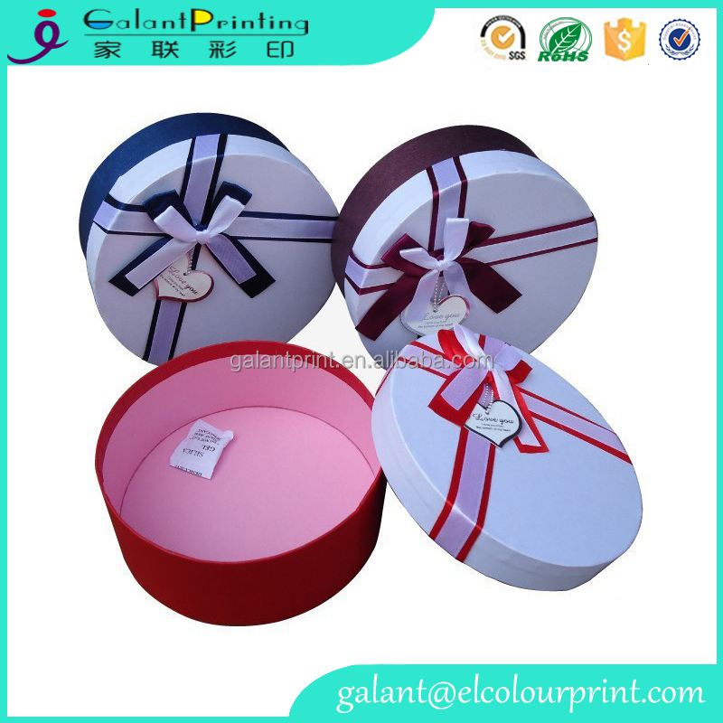 cardboard ornament storage boxe round hat keepsake boxes with lids