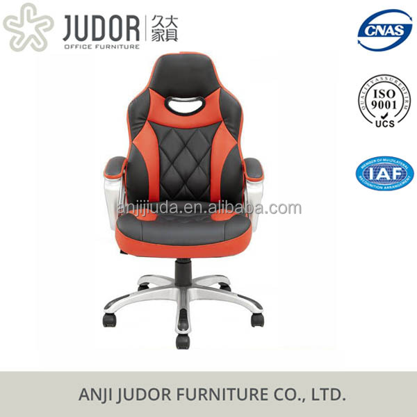 2016 judor hot selling PU gamer dxracer office chair with racing seat