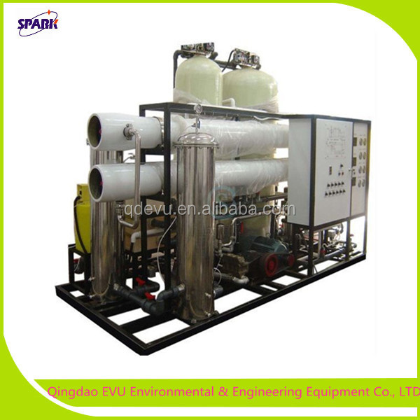 500TPD portable reverse osmosis ro seawater Demineralization Plant (DM Plant)