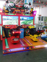 Coin Operated Simulator Arcade Car Motorcycle TT Car Racing Arcade Game Machine for Sale