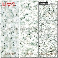 White Granite Black Veins