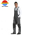 Autumn New Grey Black Two-Tone TC Bib and Brace Overall Gungarees Not Only for Work